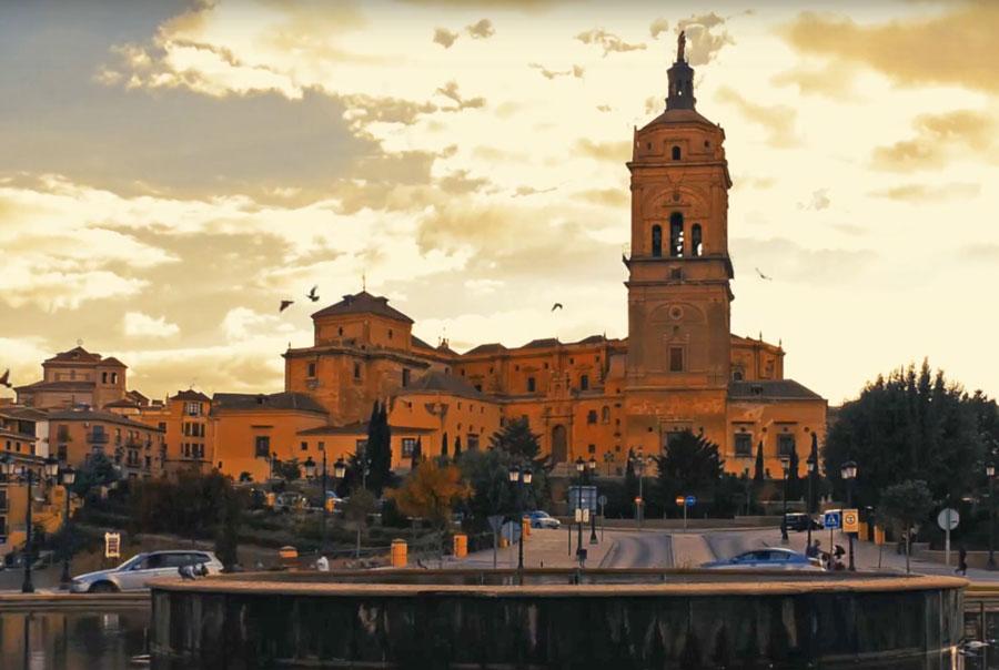 imagen de la ciudad de Guadix en Granada