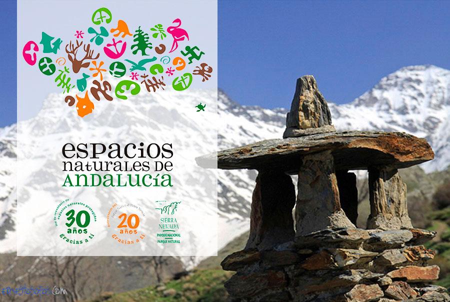 cumbres del Parque Nacional de Sierra Nevada en Granada